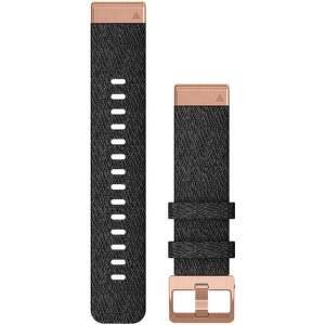 Garmin QuickFit 20 mm nylový řemínek pro Fénix 6S, černo-zlatá