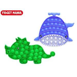 Mikrotrading PLOP Up! dinosaurus veľryba hračka