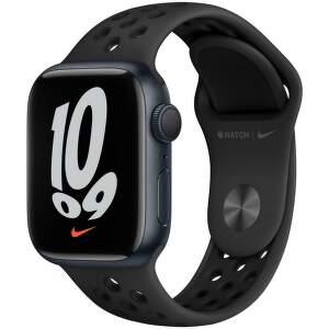 apple-watch-nike-series-7-gps-41-mm-temne-inkoustovy-hlinik-s-antracitove-cernym-nike-sportovnim-reminkem
