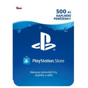 SONY PSN karta k nabití účtu: 500Kč/CZE