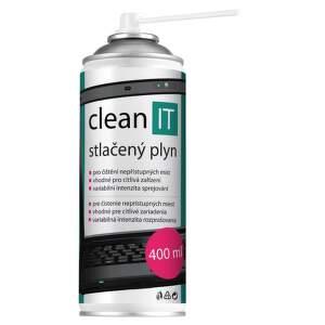 Clean IT CL-102 stlačený plyn 400 ml