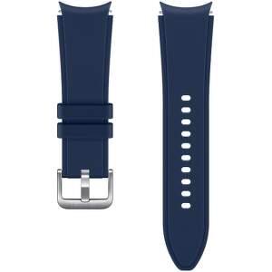 Samsung sportovní řemínek s rýhováním S/M pro Galaxy Watch4 Classic 42 mm modrý