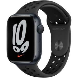 apple-watch-nike-series-7-gps-45-mm-temne-inkoustovy-hlinik-s-antracitove-cernym-nike-sportovnim-reminkem
