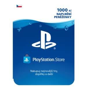 SONY PSN karta k nabití účtu: 1000Kč/CZE