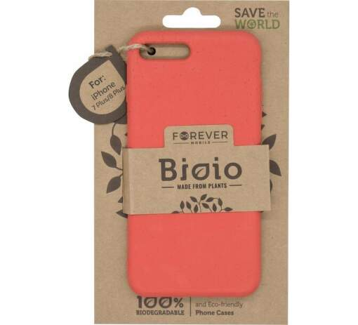 Forever Bioio pouzdro pro iPhone 7 Plus/8 Plus červené