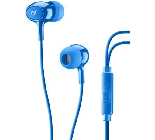CellularLine Acoustic sluchátka, modrá