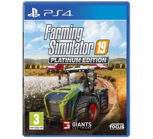 Farming Simulator 19 Platimum Edition PS4 hra