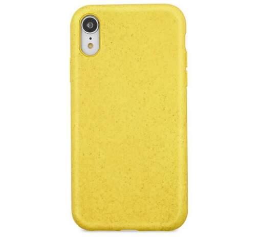 Forever Bioio zadní kryt pro Apple iPhone Xs Max, žlutá