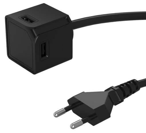 powercube-extended-4x-usb-15-w-3-a-cierna