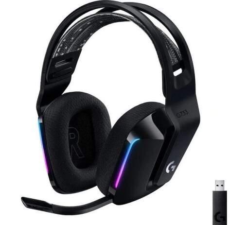 Logitech G733 LIGHTSPEED černý