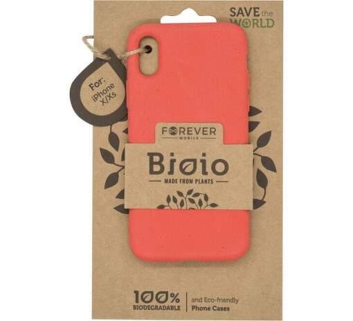 Forever Bioio zadní kryt pro Apple iPhone XS a X červený
