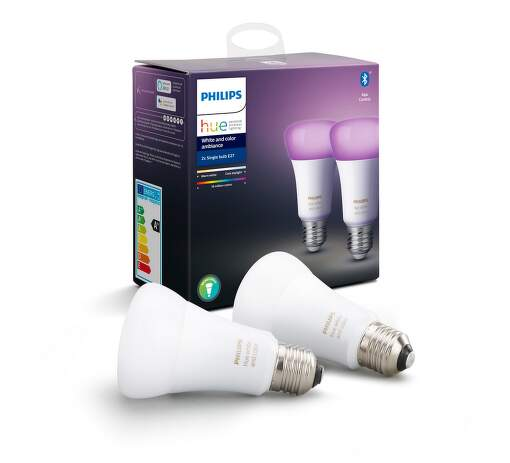 Philips Hue White and Color ambiance 9W E27 set 2ks