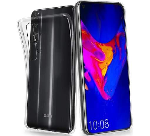 SBS silikonové pouzdro pro Huawei P40 Pro, transparentní