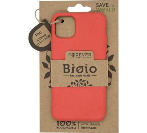 Forever Bioio zadní kryt pro Apple iPhone 11 Pro Max červený