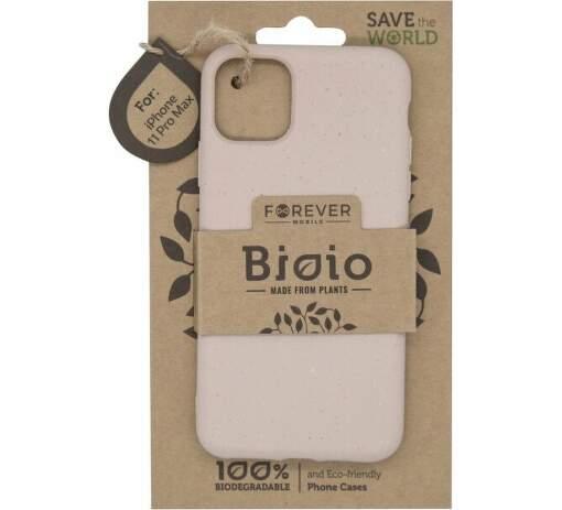 Forever Bioio zadní kryt pro Apple iPhone 11 Pro Max růžový