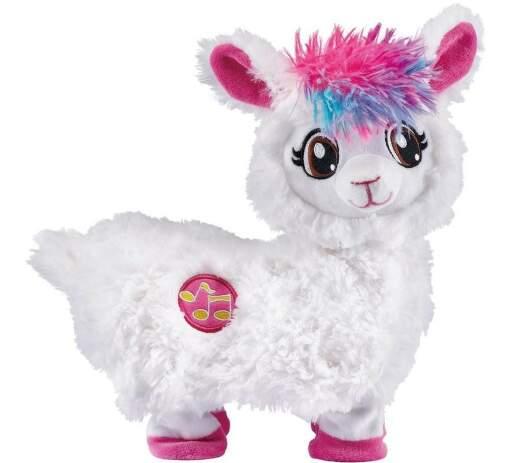 ZURU Lama bílá plyšová hračka