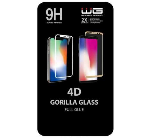 Winner 4D Full Glue tvrzené sklo pro Xiaomi Redmi Note 8 Pro, černá