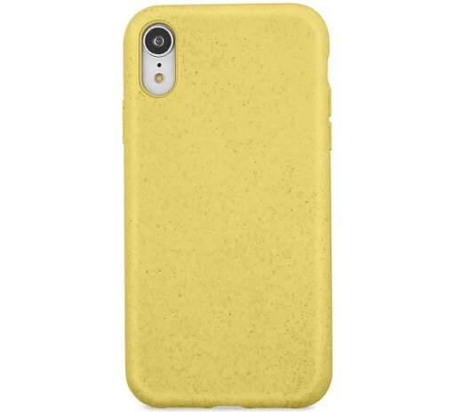 Forever Bioio zadní kryt pro Apple iPhone Xs a X, žlutá