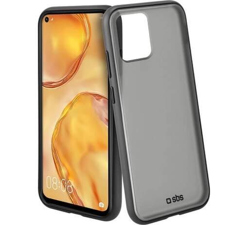 SBS Unbreakable silikonové pouzdro pro Huawei P40 Lite, černá