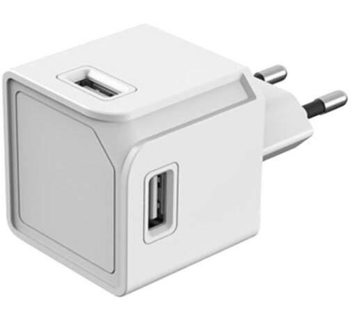PowerCube Original 4x USB, bílá