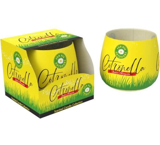 Sweet Home Citronela, Vonní svíčka