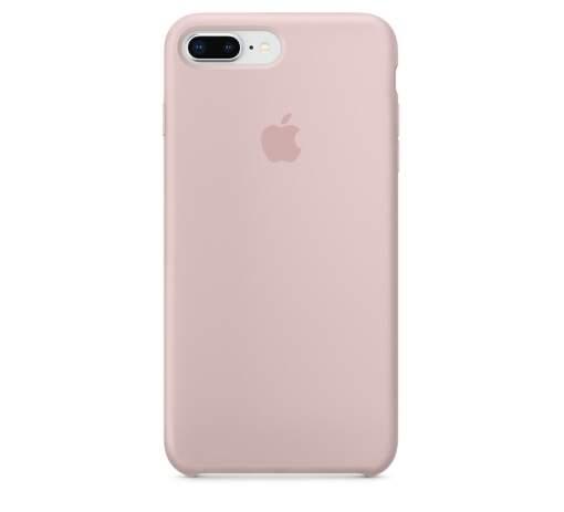 Apple Silicone Case pro iPhone 8+/7+, rúžová_01
