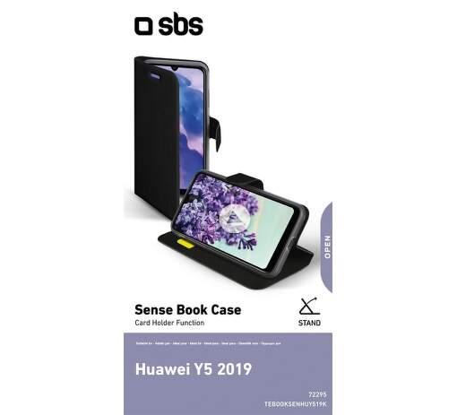 SBS Book Sense pouzdro pro Huawei Y5 2019, černá
