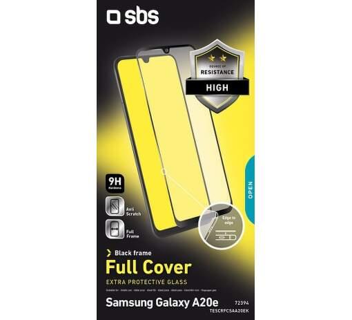 SBS tvrzené sklo pro Samsung Galaxy A20e, černá