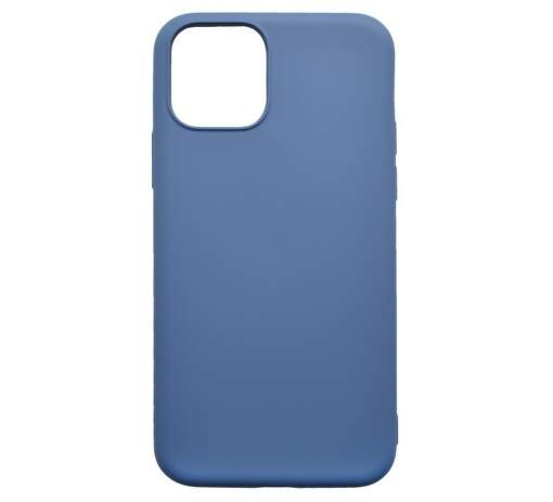Mobilnet Soft silikonové pouzdro pro Apple iPhone 11, tmavě modrá