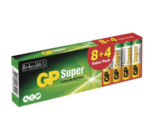 GP SUPER LR03 8+4PB