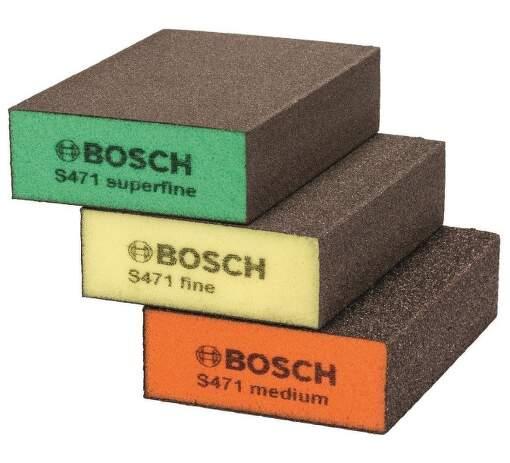 Bosch 69X97X26 brusné houbičky 3ks