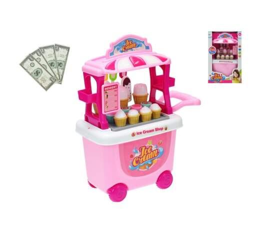 Mikrotrading stánek zmrzlina hračka