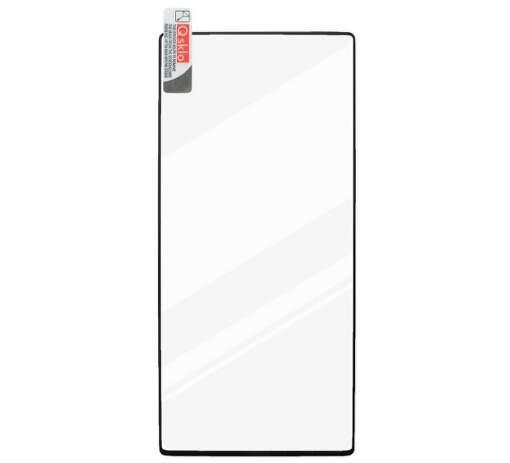Qsklo 2,5D tvrzené full glue sklo pro Samsung Galaxy A30S, černá