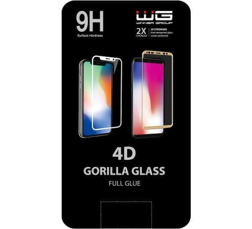 Winner 4D ochranné tvrzené sklo pro Xiaomi Redmi Note 9, černá