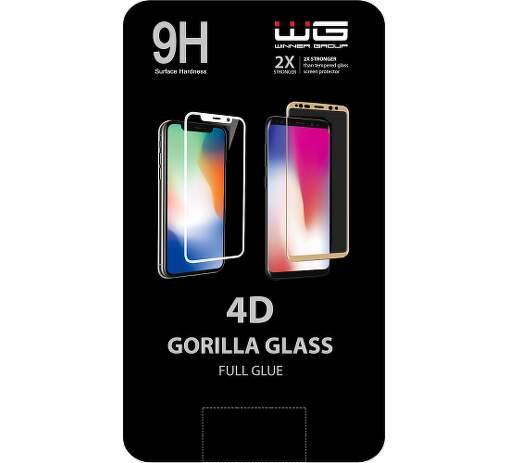 Winner 4D ochranné tvrzené sklo pro Honor 9X Lite, černá