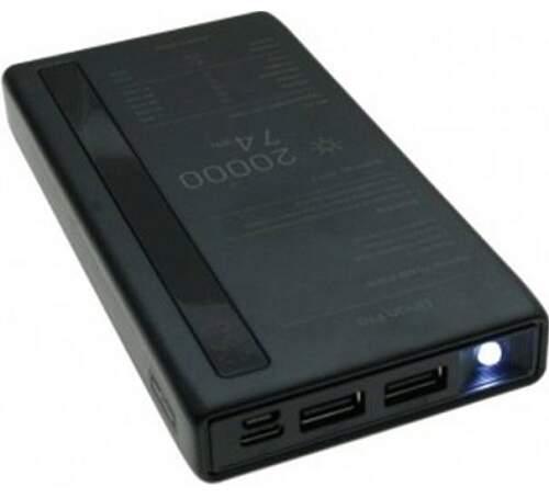 Remax Linon Pro RPP-73 powerbanka 20000 mAh, černá