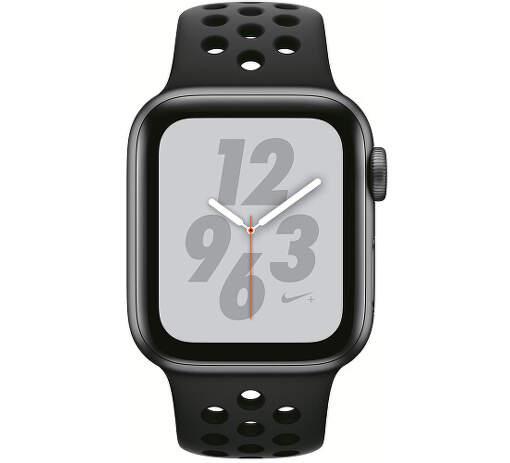 Apple Watch Series 4 Nike+ 40mm vesmírně šedý hliník/antracitový/černý sportovní řemínek Nike