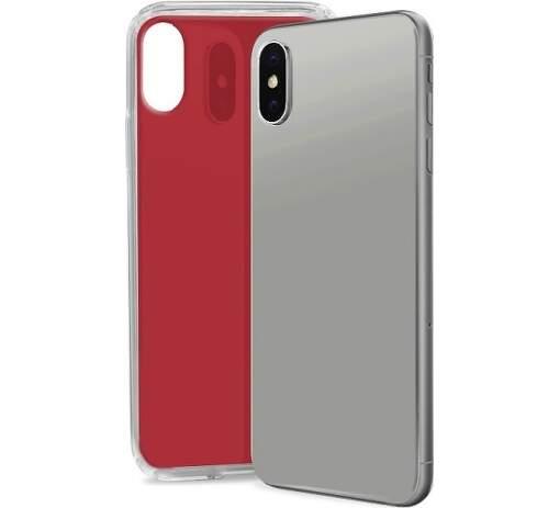 SBS Glue pouzdro pro Apple iPhone Xr, červené