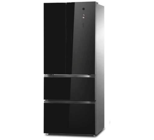 Hoover HMDN 182 EU, černá kombinovaná chladnička