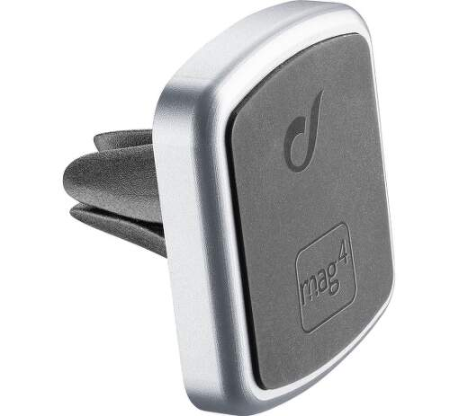 CellularLine Mag4 Handy Force Pro magnetický držák do ventilace, stříbrná