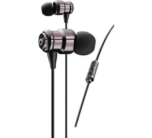 CellularLine Swing In-Ear AQL sluchátka, růžová