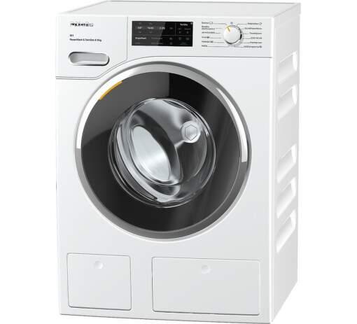 MIELE WWI860, bílá smart pračka plněná zepředu
