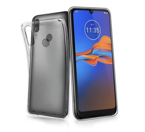 SBS Skinny pouzdro pro Motorola Moto E6 Plus, transparentní