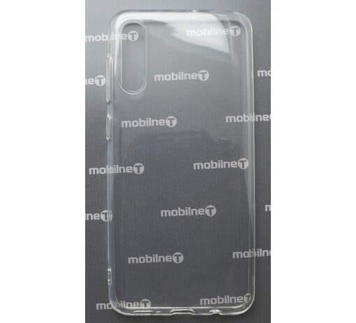 Mobilnet gumové pouzdro pro Samsung Galaxy A30s, transparentní