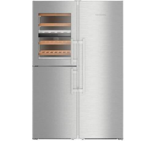 Liebherr SBSes 8496, Americká chladnička