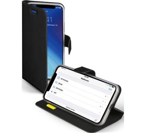 SBS flipové pouzdro pro Apple iPhone Xs Max, černé