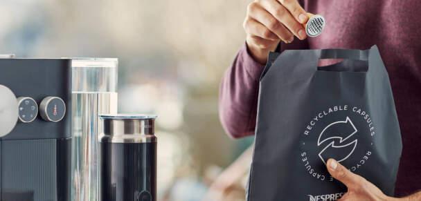 Recyklujte s námi - Nespresso