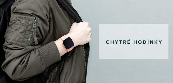 Fitbit chytré hodinky