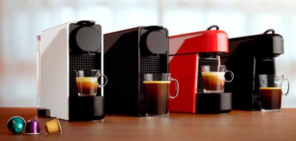 Nabídka kávovarů Nespresso