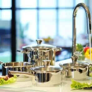 Stainless steel – nerezová sada nádobí